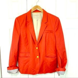 Orange Banana Republic Blazer
